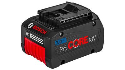 BOSCH Batterie GBA 18 V Li-Ion GBAProCORE18V 7,0 Ah
