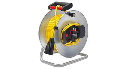 Brennenstuhl Silver Jardi-330 Enrouleur de cable 50 m