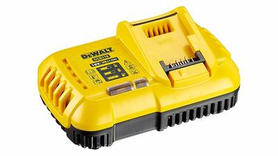 Chargeur de batteries rapide ventile DeWALT DCB118