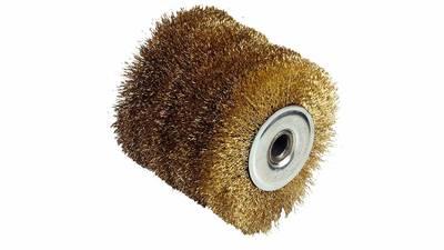 Fartools 110871 Brosse fil laitonnée pour rénovateur REX120 Diamètre 120 mm