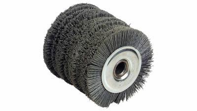 Fartools 110872 Brosse nylon pour rénovateur REX120 Diamètre 120 mm Noir