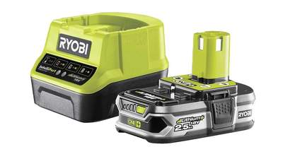 Pack batterie et chargeur 18V 2,5 RC18120-125 Ryobi