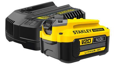 Avis et prix pack batterie et chargeur Stanley Fatmax 18 V 4.0 Ah SFMCB14M1 FATMAX V20