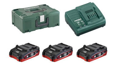 Pack batterie 18 V Metabo 3.1 Ah 685075000
