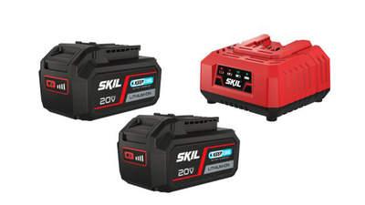 Pack batteries et chargeur 2x 20 V 4,0 Ah SKIL BC1E3112BA