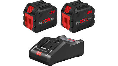 Pack chargeur 2 batteries ProCORE18V 12.0Ah + GAL 18V-160 C + GCY 42 Professional