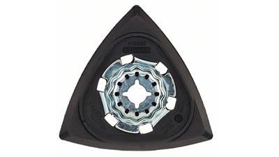 Plateau de ponçage AVZ 93 mm G pour outil multifonctions accessoire Starlock Bosch 2609256956