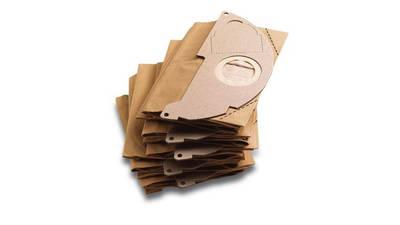 Sachet filtre papier (x5) pour aspirateurs eau et poussieres Karcher