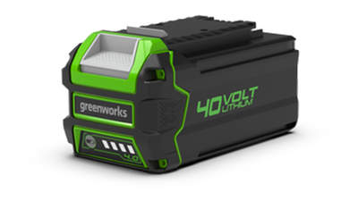Test complet : Batterie greenworks 40 V 4,0 Ah G40B4