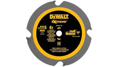 Test complet : Lame scie circulaire DEWALT fibre ciment 115 mm DT20421-QZ