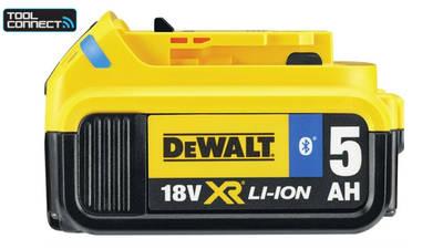avis et prix batterie Dewalt DCB184B-XJ TOOL CONNECT Batterie li-Ion 18 V 5 Ah
