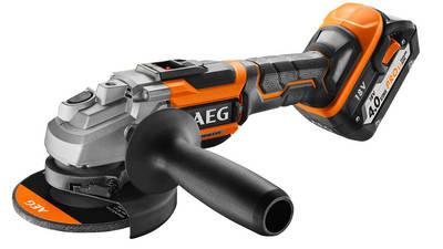 Meuleuse sans fil AEG BEWS 18-125BL-402C