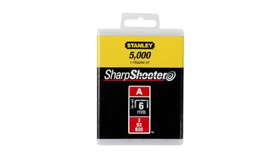 Agrafes 6 mm type A Stanley 1-TRA204-5T