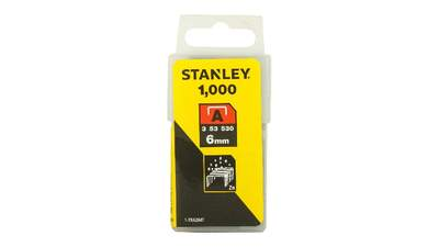 Agrafes 6 mm type A Stanley 1-TRA204T