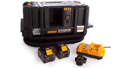 Test complet : Aspirateur de chantier sans fil DEWALT TSTAK DCV586MT2-QW