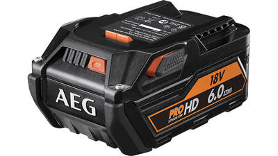 avis et prix Batterie AEG 18 V 6,0 Ah L1860RHD promotion pas cher