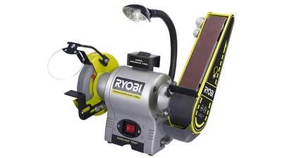 Avis et test du Touret à bande et à disque Ryobi RBGL650G pas cher