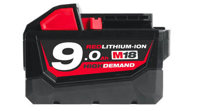 batterie milwaukee M18 B9 9,0 Ah 18 V High Demand