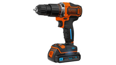 Black & Decker BDCHD18KST-QW 18 V Smart tech Perceuse-visseuse à percussion sans fil