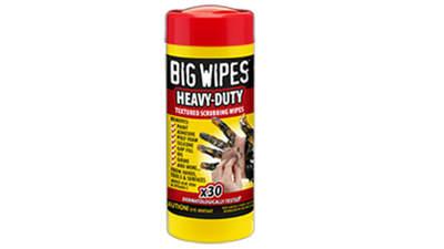 boîte de 30 lingettes Big Wipes Heavy-Duty 4 x 4 60020047