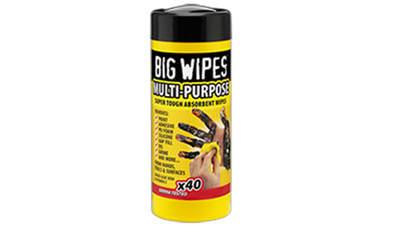 boîte de 40 lingettes Big Wipes Multi-usages 4 x 4 60020050