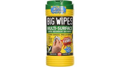 boîte de 80 lingettes Big Wipes Multi-Surface 4 x 4 60020049