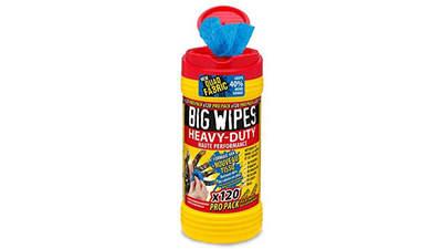 boîte Pro pack de 120 lingettes Big Wipes Heavy-Duty 4 x 4