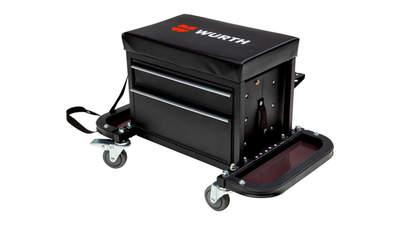 Test complet : Caisse à outils Würth avec siège sur roulettes