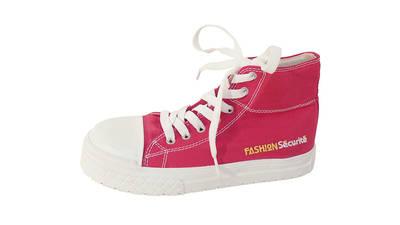 Chaussures de sécurité rose Fashion Securite