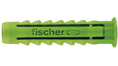 cheville à quadruple expansion Fischer SX Green 524859 5 x 25 mm boîte de 90