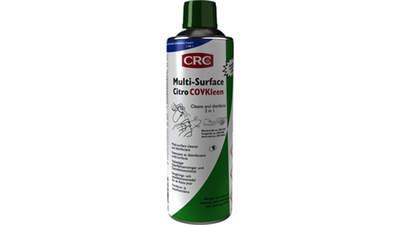 Spray nettoyant désinfectant bactéricide multi-surfaces Citro COVkleen CRC-industries