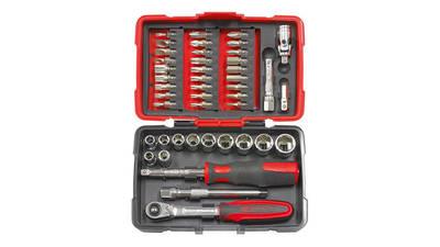 KS Tools 922.0644 Coffret de douilles et accessoires ULTIMATE 1/4'', 44 pièces