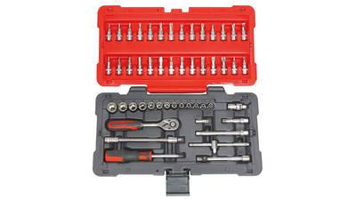 KS Tools 922.0650 Coffret de douilles et accessoires ULTIMATE 1/4'', 50 pièces
