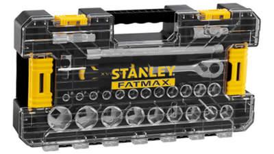 """Coffret de douilles Stanley Fatmax Stakbox L FMMT98103-1 1/2"""" Jeu de 26 pièces"""