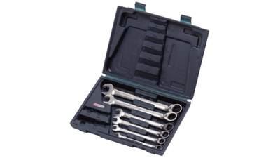Coffret clésmixtes à cliquet réversible GEARplus KS Tools 8-10-12-13-17-19 mm 503.446