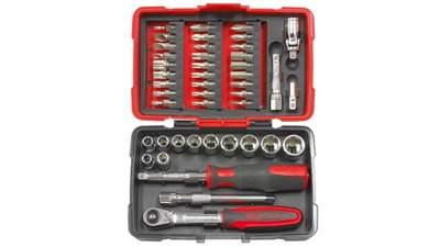 """Coffret de douilles et accessoires ULTIMATE 1/4"""" KS Tools 922.0644"""