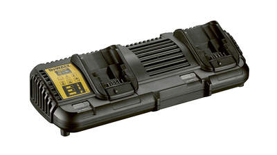 Chargeur de batteries 2 slots Dewalt DCB 132