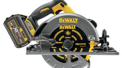 Scie circulaire sans fil DeWALT 54V XR FLEXVOLT DCS576