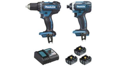 Ensemble de 2 machines Makita DLX2127TJ1