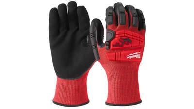 gants Milwaukee anti choc et anti coupe niveau 3 4932471930 taille 11