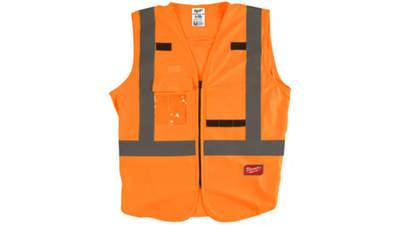 gilet haute visibilité Milwaukee 4932471893 Orange L/XL