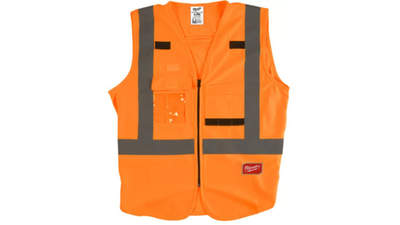 gilet haute visibilité Milwaukee 4932471894 Orange 2XL/3XL