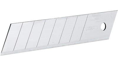 Lame de cutter Stanley 2-11-301 sécable en 7 segments pack de 5 lames 18 mm