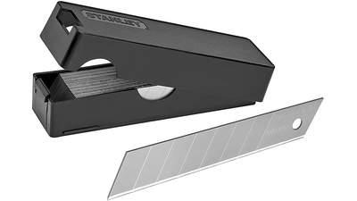 Lame de cutter Stanley 3-11-301 sécable en 8 segments pack de 50 lames 18 mm