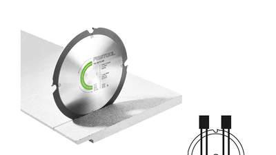 lame de scie circulaire Abrasive Materials 201910 DIA 160x2,2x20 F4 Festool