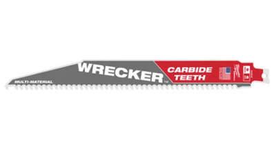 lames de scie sabre Milwaukee WRECKER TCT 150 48005241 1 pièce