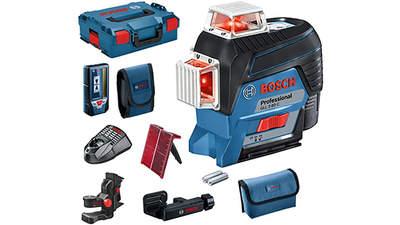Laser ligne connecté Bosch Professional GLL 3-80 C + LR 7
