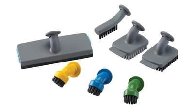 Lot d'accessoires complet pour nettoyeur vapeur BLACK+DECKER FSMH21A-XJ