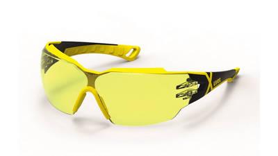 Lunettes de protection uvex Pheos cx2 jaune / noire