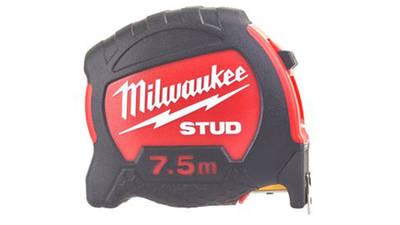 Mètre à ruban Milwaukee STUD 7,5 mètres 48229905